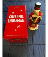 "2014 Hallmark Keepsake - CHEERFUL SNOWMAN - 12"" Tall Christmas Table Dec... - $8.45"