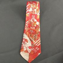 San Francisco 49ers Ralph Marlin Neck Tie NFL Football 1990 image 6