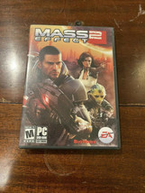 Mass Effect 2 (PC, 2010) 2 Disc, Case And Manual - $3.95