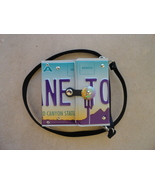 Arizona License Plate Recycled Purse - $25.00