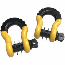 oEdRo D Ring Shackles 2pc Shackle 4.75 Ton 9500 Lbs Capacity with 7/8'' ... - $19.44