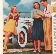 1939 General Tire Ladies Squeegee Wrinkle Automotive Auto Print Ad Page ... - $9.74