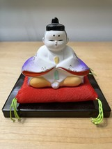 Pair of Vintage Hina Dolls from Japan image 4