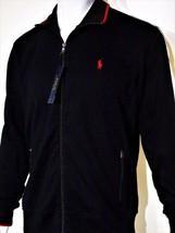 Polo Ralph Lauren pieced interlock track jacket size medium  100% cotton... - $56.25