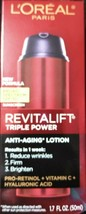 L'Oreal Paris Revitalift Triple Power Anti-Aging Lotion - SPF 30 - 1.7 f... - $16.82