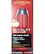 L'Oreal Paris Revitalift Triple Power Anti-Aging Lotion - SPF 30 - 1.7 f... - $16.82