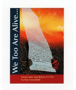 "FDC POSTCARD-  ""UNITED WE STAND FLAG STAMP"" CARD-""WE TOO ARE ALIVE"" BK14 - $1.23"