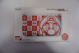 Nintendo 3DS LL Console Mario White Limited Edition Rare Item Japan New - $325.88