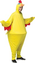 Chicken Costume Hoopster Adult Men Women Animal Halloween Party One Size... - €51,22 EUR