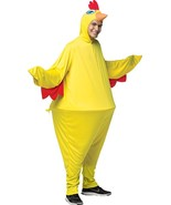 Chicken Costume Hoopster Adult Men Women Animal Halloween Party One Size... - $57.99