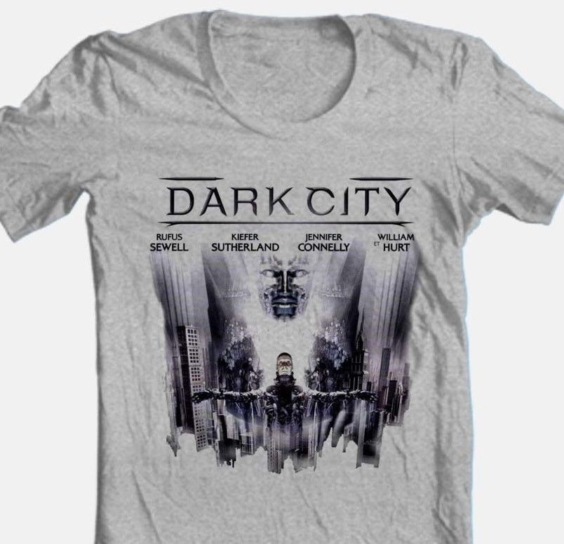 Dark city retro 1990 s science fiction movie kiefer sutherland william hurt for sale graphic tee