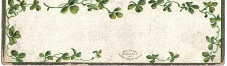 Vintage Irish Ellen Clapsaddle St. Patrick's Day Postcard - 4 Children