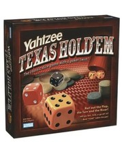 Yahtzee Texas Hold'em Poker Style Dice Game SEALED Parker Brothers  - $37.99