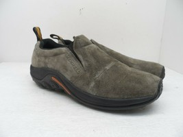 Merrell Men's Jungle Moc Slip-On Shoe Brown Suede 11M - $71.24