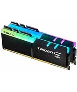 G.Skill TridentZ RGB Series 16GB 2 x 8GB PC4 25600 F4-3200C16D-16GTZR - $92.36