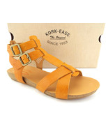 New KORK-EASE Size 8 DOUGHTY Marigold Gladiator Leather Sandals Shoes - $84.00
