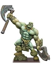 Spellcrow Game Miniatures Half-Giant with Two Weapons