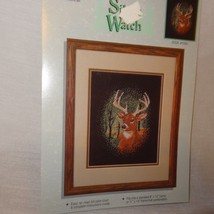 Silent Watch Deer Cross Stitch Leaflet Booklet Color Charts 10265 Forest Antlers - $9.99