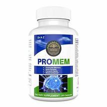 PROMEM Nootropic Brain Booster Supplement for Memory, Focus, Concentrati... - $19.75