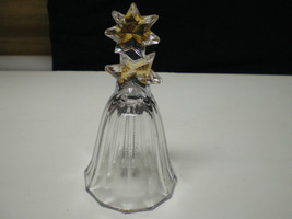 Vintage Beautiful Mikasa Double Gold Star Bell~~~htf~~~ - $4.99