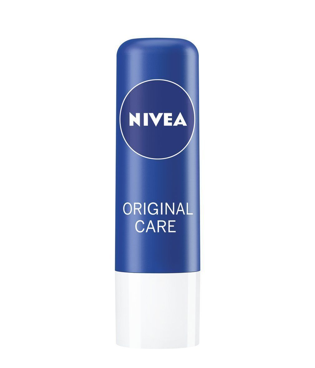 Nivea Original Care Caring Lip Balm 4.8 gm Long Lasting Moisturiser FreeShipping