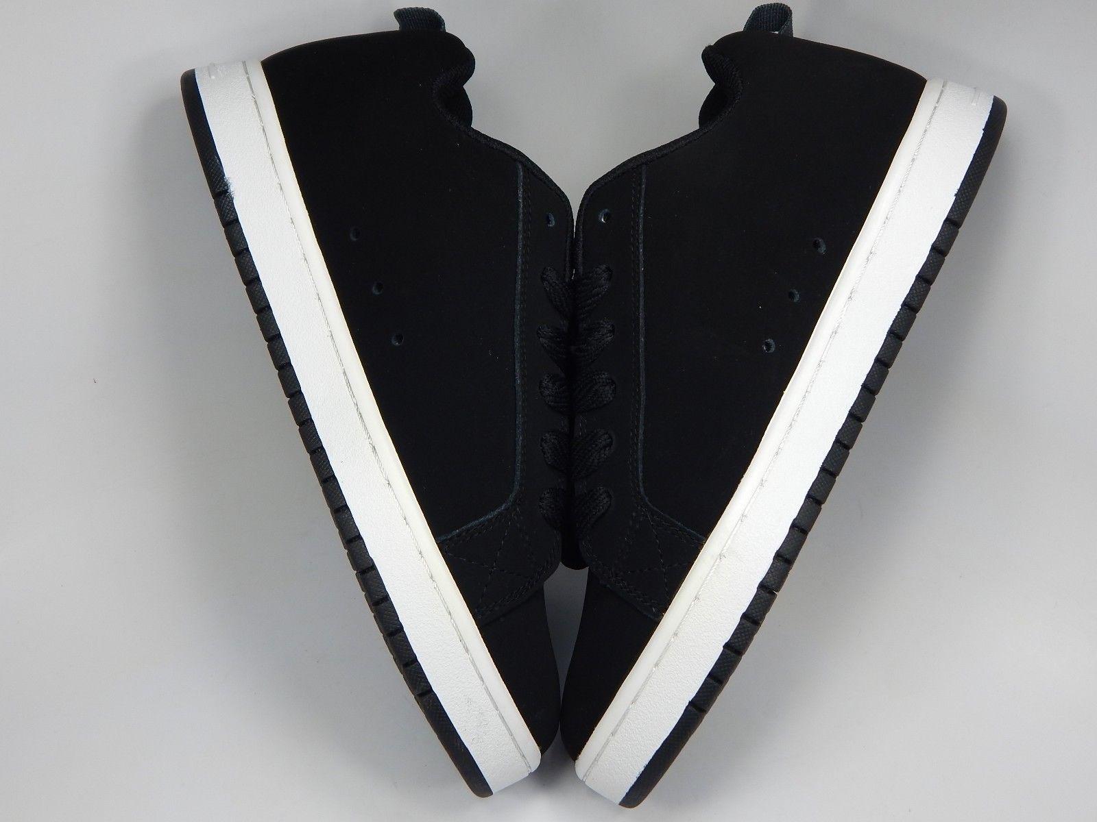 DC Court Graffik SE Low Men's Skateboarding Shoes Size US 10 M (D) EU 43 Black
