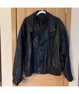 Leather Tannery West Jacket Sz XL Vtg - $128.70