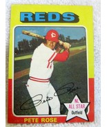 PETE ROSE 1975 TOPPS NL ALL STAR CARD#320-CINCINNATI REDS OF-NM-MINT CON... - $29.69
