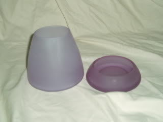 PartyLite Lilac Frost Candleholder Party Lite RARE