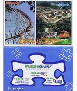 Vintage Sealed Pittsburgh Kennywood / Sandcastle / Idlewild Puzzlegram P... - $9.49