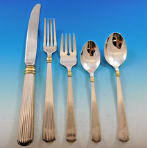Ashmont Gold by Reed & Barton Sterling Silver Flatware Set Service 45 pcs Dinner - $3,495.00