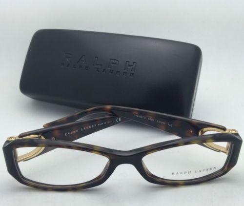 573694000ffe New RALPH LAUREN Eyeglasses RL 6070 5003 52-15 135 Tortoise Havana & Gold  Frames