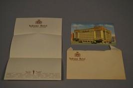 VINTAGE INDIANA HOTEL FT WAYNE POSTCARD STATIONARY AND ENVELOPE  - $9.45