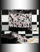 "2 pc Set  - 18"" Tote with Matching 10"" Compact Umbrella -4 Designs Casino Sudoku image 2"