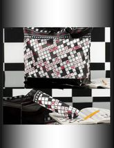 "2 pc Set  - 18"" Tote with Matching 10"" Compact Umbrella -4 Designs Casino Sudoku image 4"