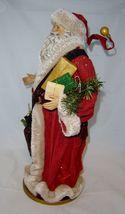 """18""""  Vintage Look Standing Santa Figurine on Base NEW image 2"""