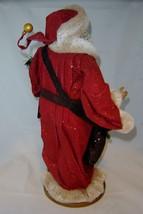 """18""""  Vintage Look Standing Santa Figurine on Base NEW image 3"""
