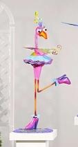 "33"" Metal Zany Lady Bird Garden Figurines - 3 Choices image 2"