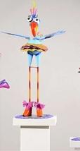 "33"" Metal Zany Lady Bird Garden Figurines - 3 Choices image 3"