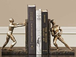 "7"" Athlete Bookends Set - Polystone"