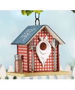 "9"" Country Diner Restaurant Hanging Birdhouse Durable Polystone - $54.44"