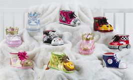 "Baby Shoe Money Banks - 10 Designs - 5"" x 2.8"" x 3"" image 2"
