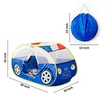 Large Police Car Tents Waterproof Indoor and Outdoor Cute Car Play Hour ... - $50.74