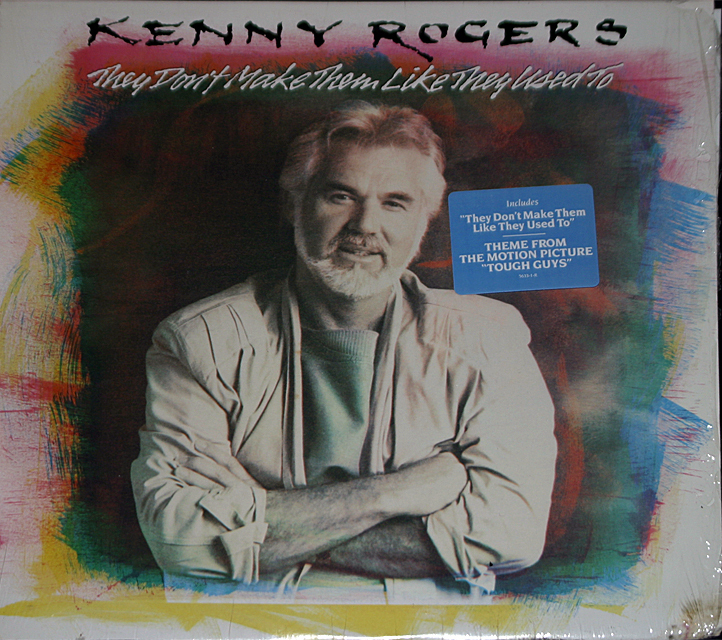Kenny rogers  they dont make them  cover