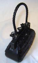 Black Fashion Purse Handbag Money Bank Polyresin image 2
