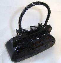 Black Fashion Purse Handbag Money Bank Polyresin image 3