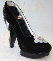 Black Replica Stiletto Shoe Ring Holder