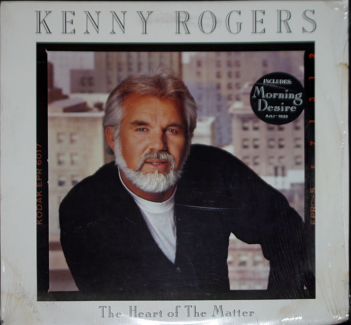 Kenny rogers the heart of the mater  cover