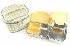 Airtight Leak Proof Lunch, Bento Box Containers with Insulate bag, Made ... - $24.99