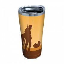 The Mandalorian Desert Baby Yoda Tervis® 20 Ounce Tumbler Travel Mug Orange - $36.98